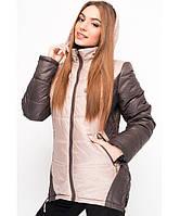Яркая женская  осенняя куртка