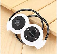 Беспроводные Bluetooth - наушники Mini-503 BH503. Белые