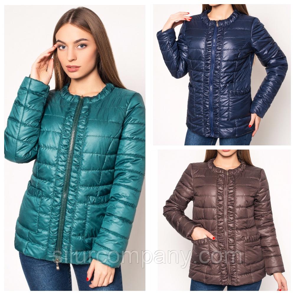 a84b9bf4e13 Куртка женская осень-весна стеганная  продажа