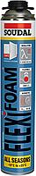 Пена монтажная пистолетная эластическая FLEXIFOAM SOUDAL 750мл