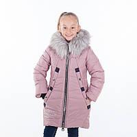 """Зимнее пальто для девочки """"Блюмарин """",зима, р.34 - 42"""
