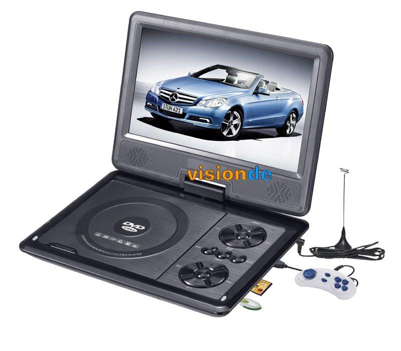 Портативний DVD плеєр 789 акумулятор TV тюнер VXX