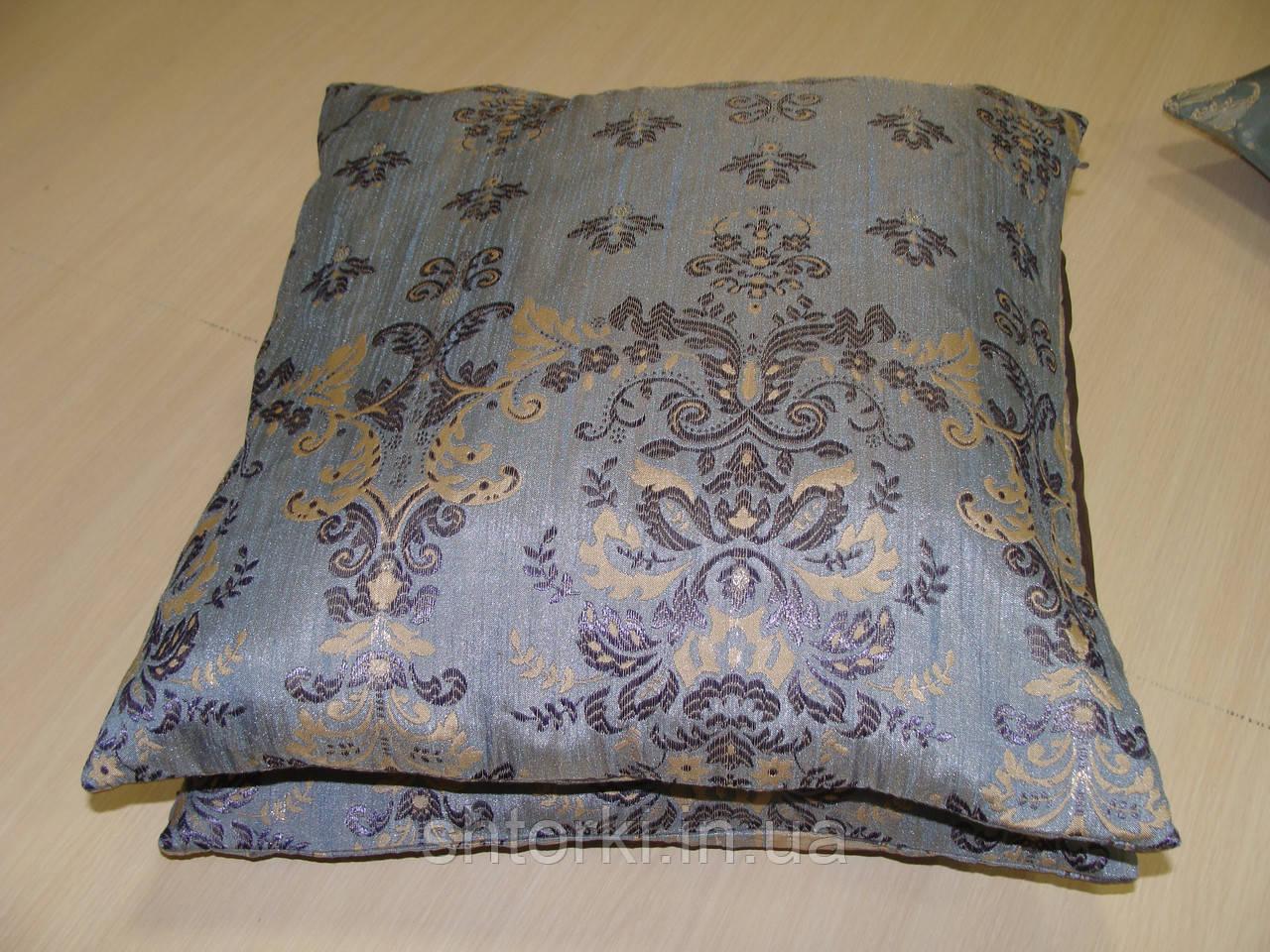 Комплект подушек Арда  голубые , 2 шт