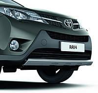 Накладка переднего бампера для Toyota RAV4 2013 Новая Оригинальная