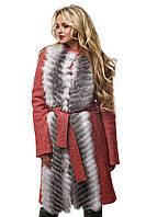 Женское Пальто ПВ-44 Красный