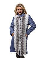 Женское Пальто ПВ-44 Синий