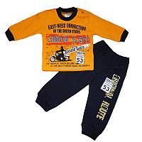 Костюм для мальчика 74-92 кофта+штаны арт.793