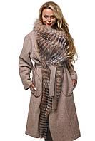 Женское Пальто ПВ-32 Капучино