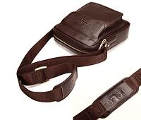 Мужская кожаная сумка. Модель 61164, фото 6