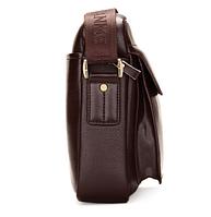 Мужская кожаная сумка. Модель 61164, фото 8