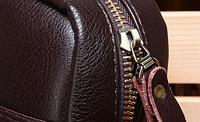 Мужская кожаная сумка. Модель 61164, фото 5