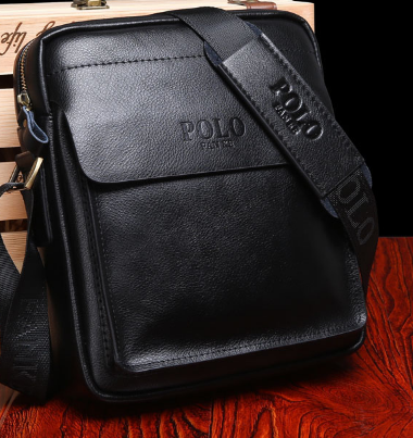 Мужская кожаная сумка. Модель 61164