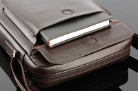 Мужская кожаная сумка. Модель 61164, фото 3