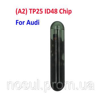 ID48 TP25 A2 VAG JMA предподготовленный чип Megamos ID48 для прописывания (привязки) в авто Audi CAN BUS (Cryp