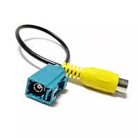 Видео кабель для камеры заднего вида штатной магнитолы с command