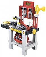 Игровой набор Мастерская Ecoiffier с инструментами 23 аксессуара 002406