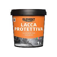 Защитный лак (матовый) LACCA PROTETTIVA ELEMENT DECOR 1 л