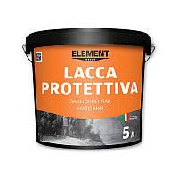 Защитный лак (матовый) LACCA PROTETTIVA ELEMENT DECOR 5 л