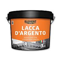 Лак LACCA D'ARGENTO ELEMENT DECOR 3 л