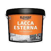 Лак фасадный LACCA ESTERNA ELEMENT DECOR 10 л