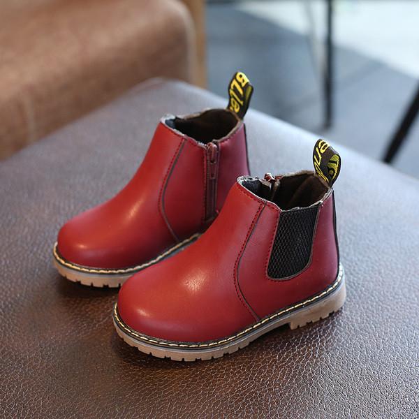 Детские ботинки без застежек