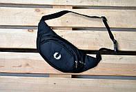 Кондукторка/бананка/сумка на пояс Fred Perry (Фред Перри), черная
