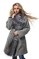 Женское Пальто ПВ-32к Серый