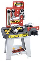 Игровой набор Мастерская Ecoiffier с инструментами 19 аксессуаров 002407