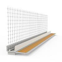 """Профиль примыкающий с стеклосеткой для оконных и дверных блоков """"ELEMENT FACADE SYSTEM"""""""