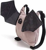 Вожжи-рюкзак для детей MirAks RS-3677 (Летучая мышь-Бетмен)