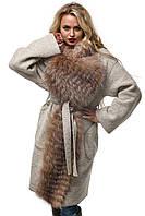 Женское Пальто ПВ-32к Бежевый