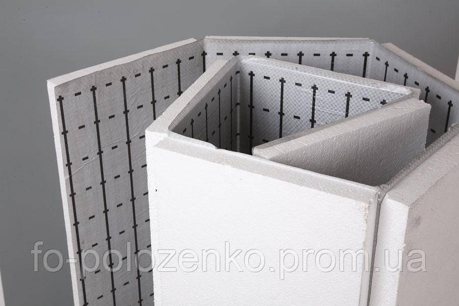 Плита пенополистирольная фольгированная 20мм (35 плотности)