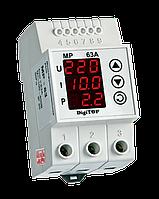 DigiTOP Реле напряжения/тока MP-63A мнофункциональное DIN