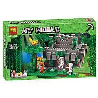 """Конструктор Minecraft Bela 10623 """"Храм в джунглях"""" (аналог Lego Майнкрафт, Minecraft 21132), 604 дет  , фото 1"""