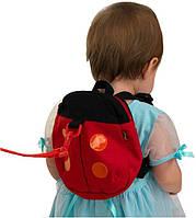 Вожжи-рюкзак для детей MirAks RS-3676 (Божья коровка)