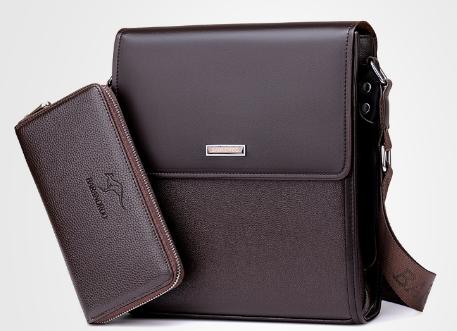 Мужская кожаная сумка. Модель 61165