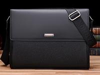 Мужская кожаная сумка. Модель 61165, фото 4