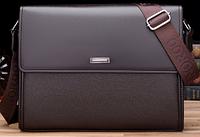 Мужская кожаная сумка. Модель 61165, фото 5