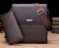 Мужская кожаная сумка. Модель 61165, фото 6
