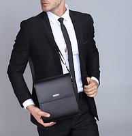 Мужская кожаная сумка. Модель 61165, фото 8