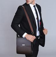 Мужская кожаная сумка. Модель 61165, фото 9