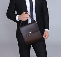 Мужская кожаная сумка. Модель 61165, фото 10