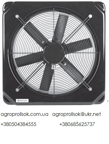 Вентилятор шахтный Deltafan 630/K/8-8/50/230/L