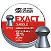 Пульки JSB DIABOLO EXACT 4.53мм (0,547гр) 500шт.