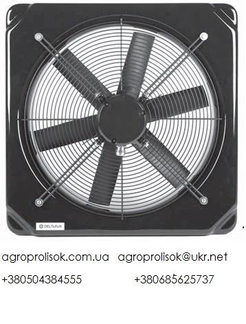 Вентилятор шахтный Deltafan 630/K/8-8/35/400