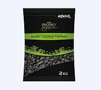 Грунт Aquael базальт черный 2-4 мм