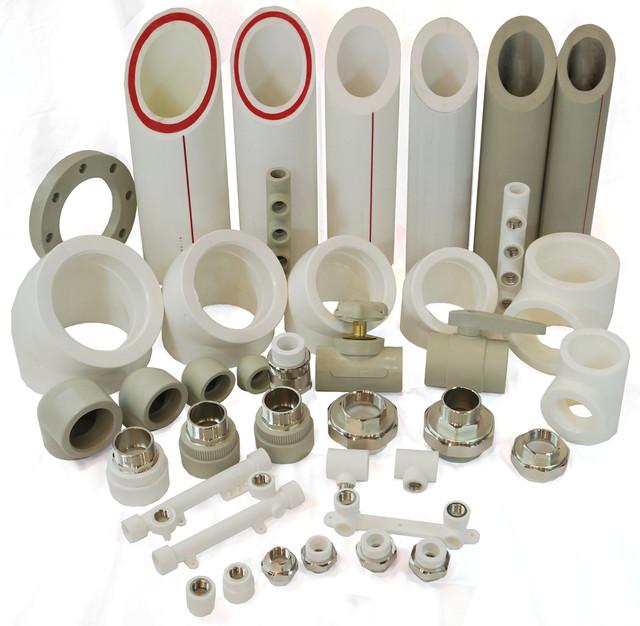 Полипропиленовые фитинги и трубы alfa plast