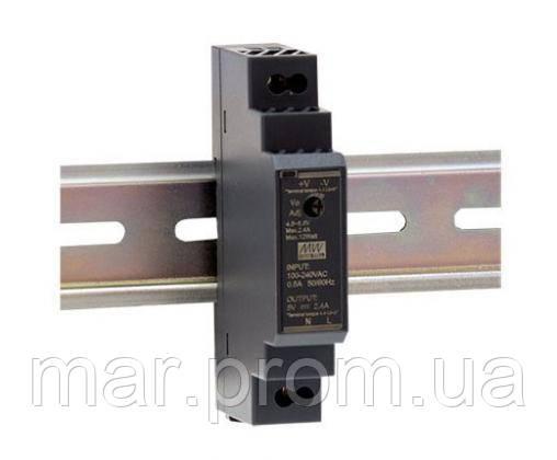 HDR-15-12 Блок питания Mean Well 15вт,12в,1,25А на Din-рейку