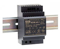 HDR-60-12 Блок питания Mean Well 54вт, 12в, 4,5А на Din-рейку