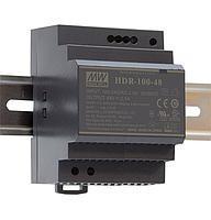 HDR-100-15 Блок питания Mean Well 92вт, 15в, 6.13А на Din-рейку